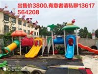 幼儿园大型滑梯低价转让,尺寸(长宽高):9.5×4×3.5米。