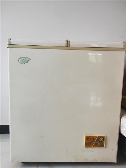 出售二手冰柜123L