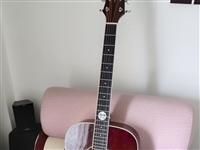 奥森吉他,今年过年脑子一热买的,感觉自己没水平练习,决定卖出,原价1350,现1100出售,有意者可...