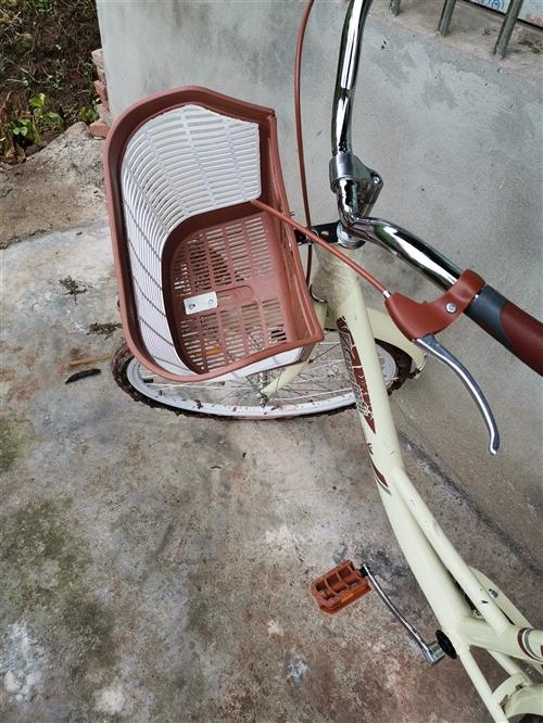 閑置一輛自行車 買來只騎過兩次 9.8成新 配了車鎖和手電筒