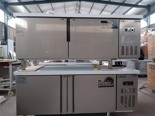 出售四门冰柜,保鲜工作台等各种制冷产品