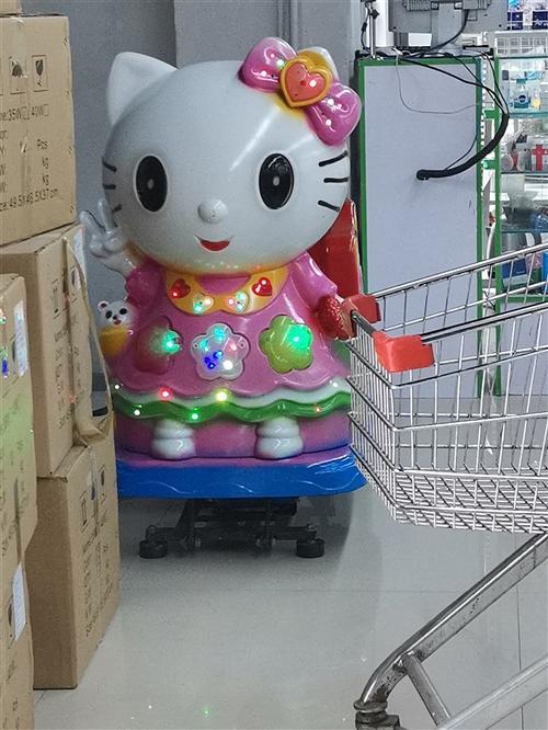 兒童搖擺機九成新處理,原價1200一個,現在1200四個處理,在超市擺放,現在超市裝修了