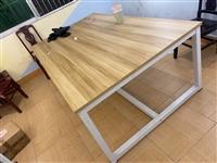 辅导班课桌培训桌椅,好看耐用,喜欢的可以联系我。