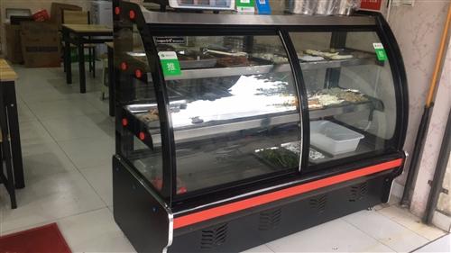 弘雪保鮮展示柜冷藏點菜柜熟食鴨脖麻辣燙鹵菜涼菜蔬菜水果商用柜 只用了一個月左右,完好,1.6米前后...