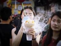 冒烟饮料技术,干冰出售各种奶茶技术出售