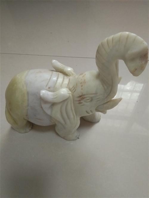 招财大象一对,1000元