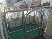 由于自己的狗狗送人了,狗籠現在閑置無用,有需要的聯系我,360買的,現在便宜出售。狗籠完好無損,長1...