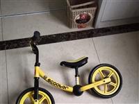 儿童品牌平衡车99新,买回来就骑了一次