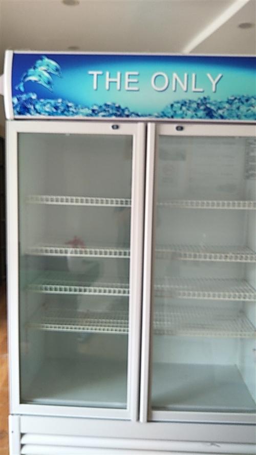處理九成新保鮮柜兩開門一個,價格面議!