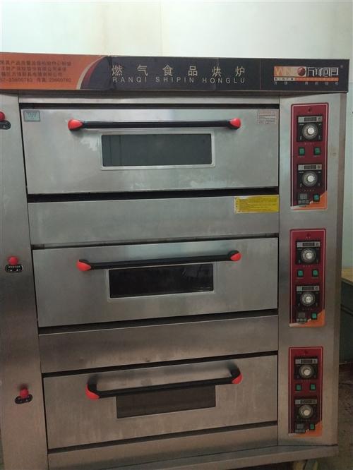 三层烤箱,发酵箱,和面机,八成新,用得着的老板请联系