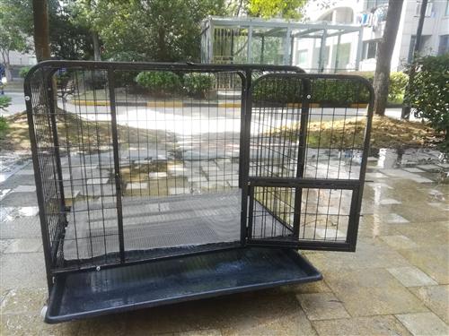 黑大号狗笼子,9成新,有需要的朋友可与我联系