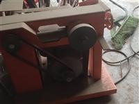 出售不锈钢磨口机一台功率750w才用了一次!磨具齐全,