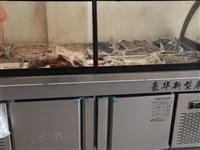 出售熟食展示保險柜2個,9成新,熟食鹵鍋灶,豆漿機,餅鐺,絞肉機,價格面議
