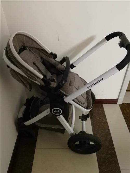 自用宝宝车,可躺可坐,惜用。博兴县城内可送,配件齐全,状态良好。