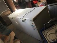 海尔速冻冰柜900元,四开门商用冰柜,上保鲜下速冻1300
