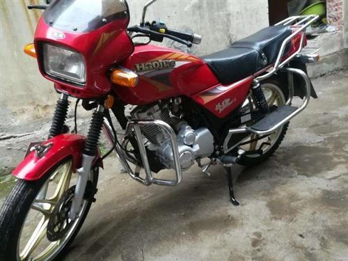 豪爵银豹125