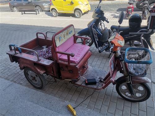 小电动三轮车新换电池700