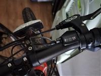 闲置美利达挑战者320山地自行车出让,27速,前后碟刹,九成新。