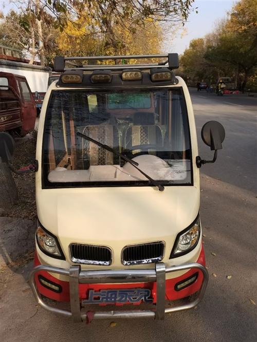 上海永久电动四轮18年11月份原车电瓶 车没没问题有需要的联系