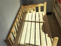 儿童床   长147cm   宽81cm 有围栏 可放大床旁 有需要的可以+微信,需上门自取 P...