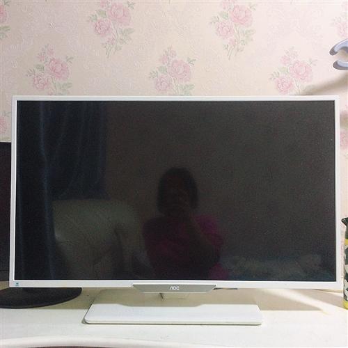 aoc 电脑显示屏八成新,原价1600现500出售