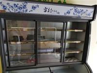 9成新雪村点菜柜1.8米