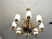 新中式吊灯,99成新,装修换下来的,原价880元