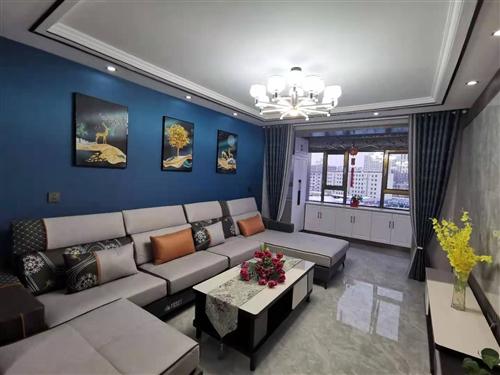 東關園5樓,二室二廳精裝地暖,帶部分家具,可優可按揭