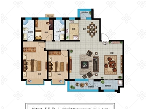 京博福樾亭4室 2厅 2卫,新房,带地下车库,带储藏室。