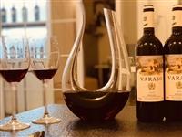 超划算!瓦拉索干红葡萄酒购买2瓶(158元/瓶)送高档红酒高脚杯2个