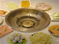 【浩云老火锅】19.8元抢购火锅套餐!10个菜!5荤5素!