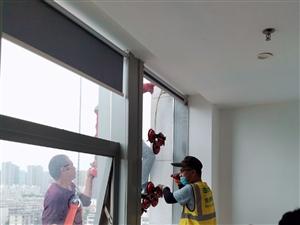 高空维修更换玻璃幕墙