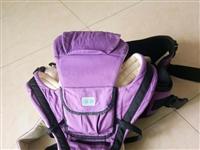 宝宝腰凳转让,买来78元,没用几次,可坐可背,前后两用,棉质材料宝宝坐着舒服。