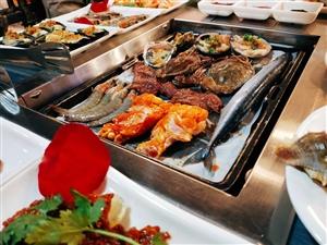 1054巴味海�r自助烤肉