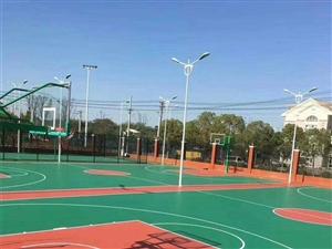 籃球場PVC塑膠地板安裝維修地膠鋪裝自流平找平