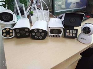 专业安装监控摄像头,安防报警器,门禁考勤机