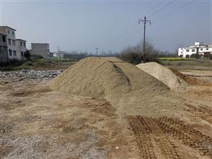 长期销售各种型号,沙,石子,打井石子,砖渣,可配送
