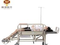 多功能全曲護理床 有安全帶 餐桌 護欄 呼叫器  買來就用過一次 低價轉讓