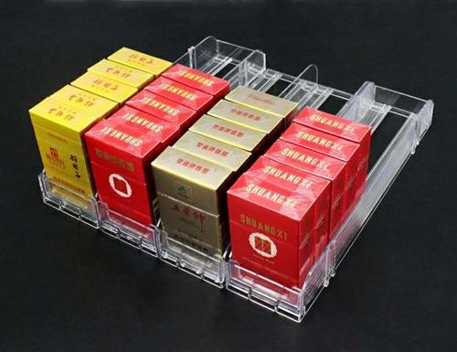 自动推烟器超市推烟器自动弹出推拉香便利店烟推进器烟架子展示架