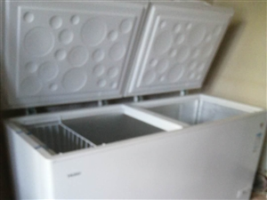 海尔冰柜516升,有发票用了四个月,原价2900。