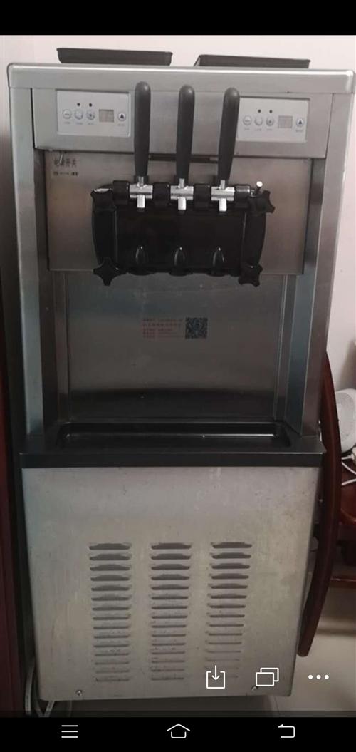 冰激凌機子。用了半年左右。特別好用。有需要要的和我聯系。