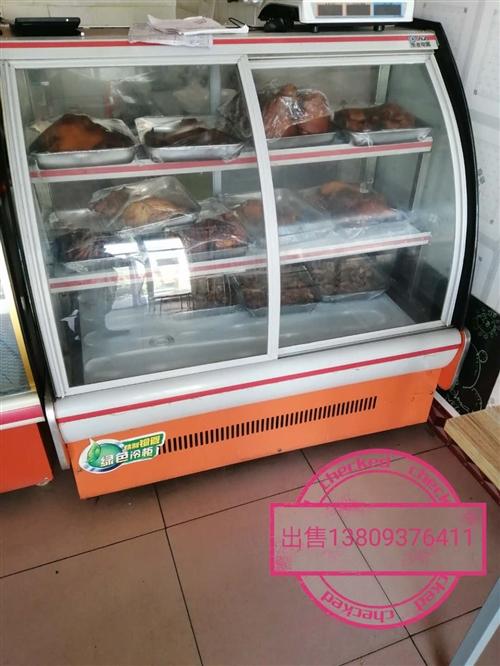 摆摊神器四开门冷藏柜半价处理,用了四个月现八百元处理。