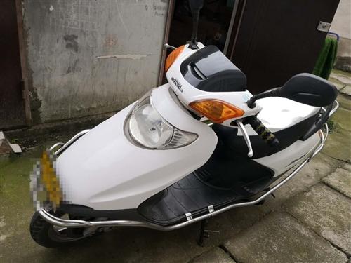 低价出售摩托车,本田踏板绝对划算,外观7成新,质量保证。