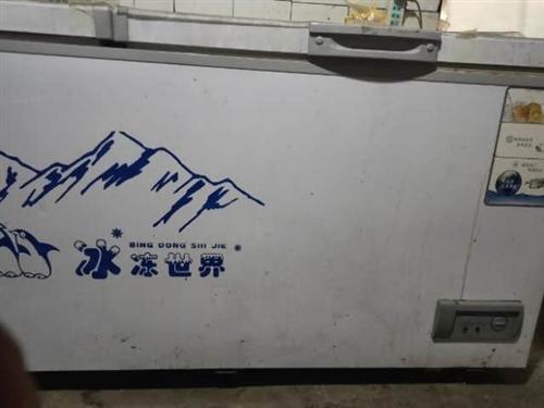 处理两米大冰柜九成新,制冷效果棒,使用效果好,有诚意价格可商议