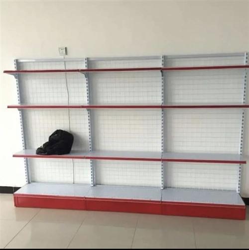 超市货架出售,总15组,每个200到600不等,货架基本全      新,如果一次全要,价格可谈……