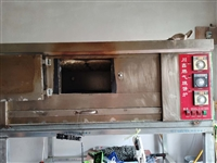因家中有事出售使用中的倒贴大烧饼炉子一个台,带着和面机