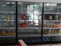 水果冷风柜一台9成新