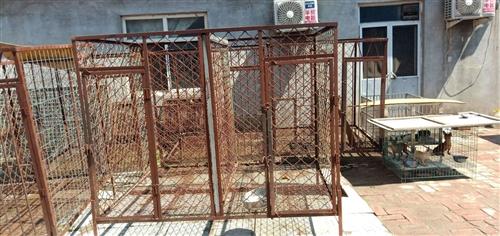 出售一批家焊狗笼子  非常结实耐用 都是自己焊的  用的都是实在东西 实打实的好钢筋  现出售一批...