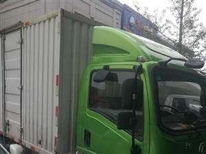 一辆四米二纯电动厢式货车找工作过出租