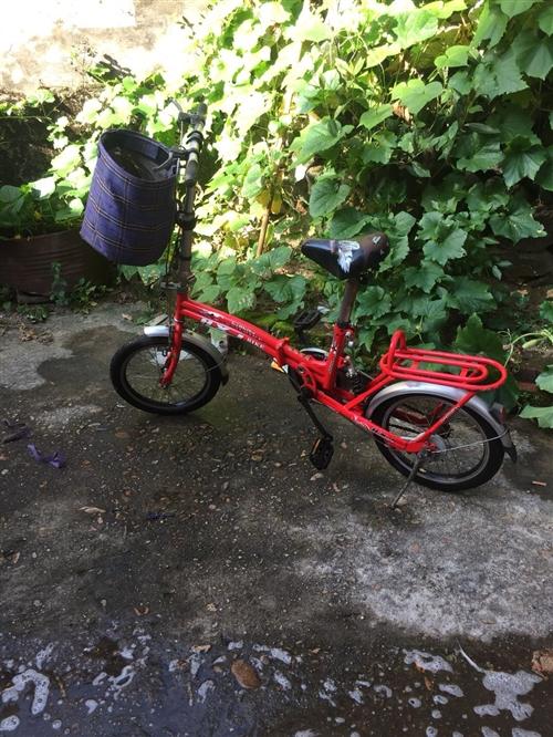 出售一辆学生自行车,可折叠,九成新,100出